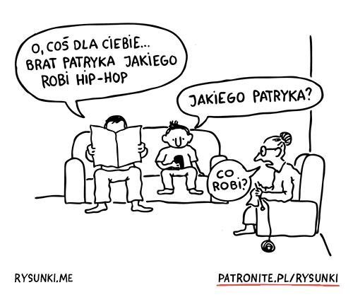 brat Patryka Jakiego