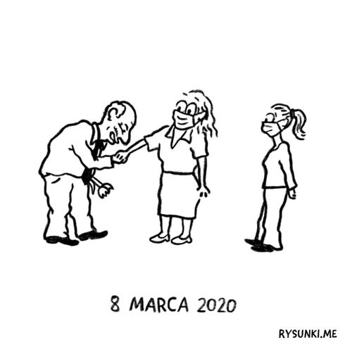 Całuje rączki – 8 marca 2020